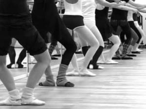Modern ballet black/white