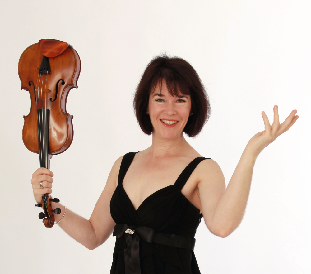 Gina-McCormack with violin