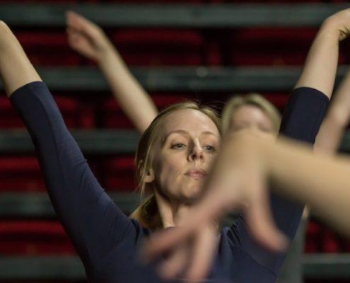 Beautiful arms - ballet class