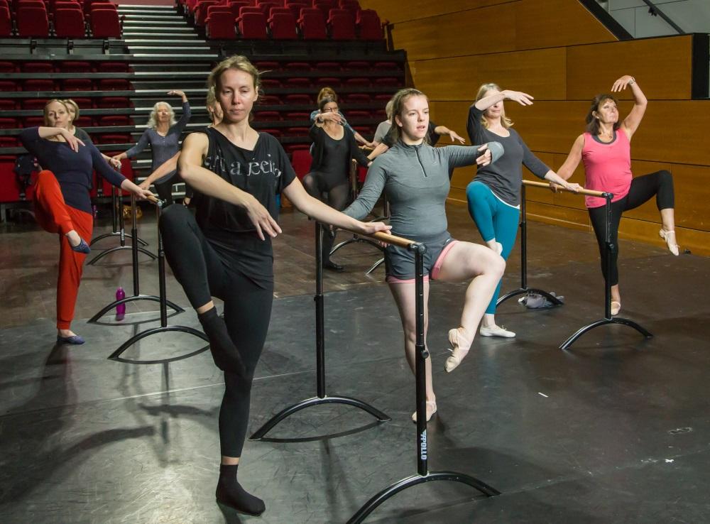 Ballet Class, Group Shot