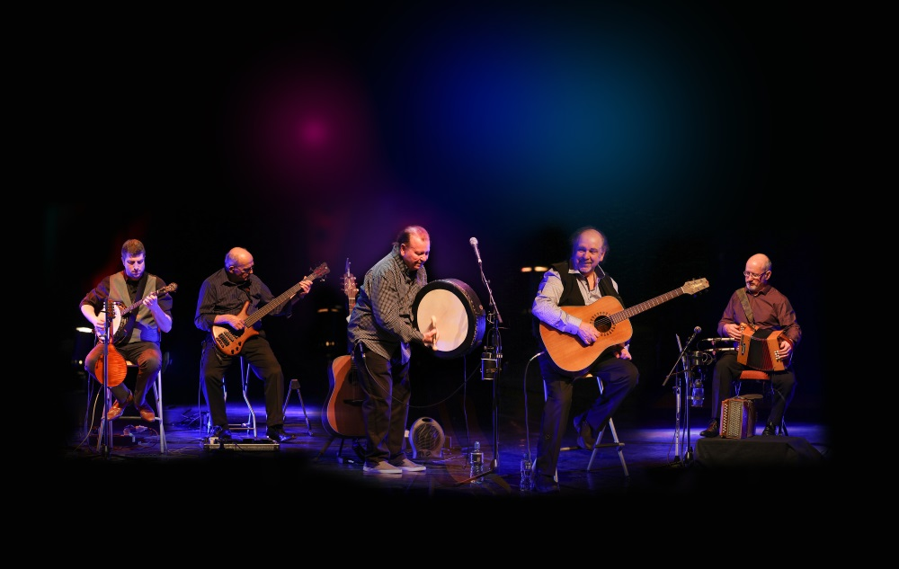 The Fureys on stage