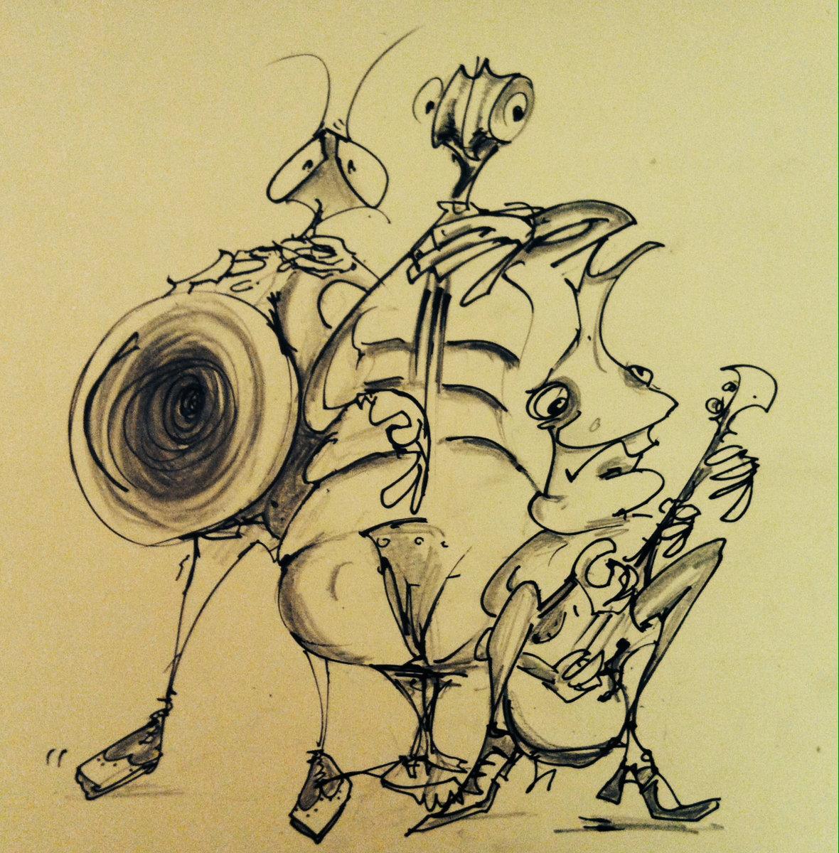 Drawing of Ugly Bug Drawing